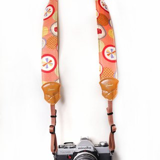 Day and Fireworks Red 4.0 Decompression Camera Strap