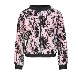 NO FIXED ABODE Designer Sequins Luxury Streetwear Womens Bomber Jacket
