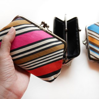 Late summer bikini two compartments wallet [Taiwan made]