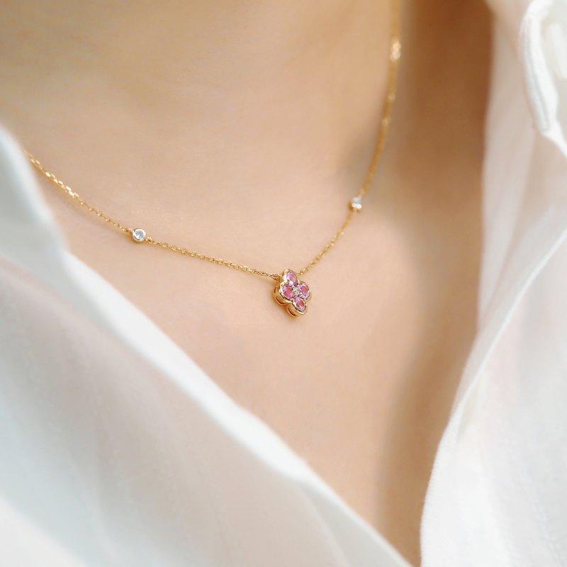 幸運的信物 Arlene | 18K金鑽石頸鏈 (可客製化)