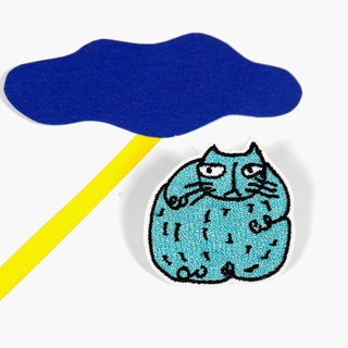 Cat - Embroidery Badge / Pin