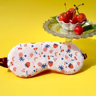 Fruits/sleep mask/with a bag/travel/gift/mask/decollections print