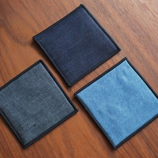 Denim Cowboy Coaster - Plain Tricolor