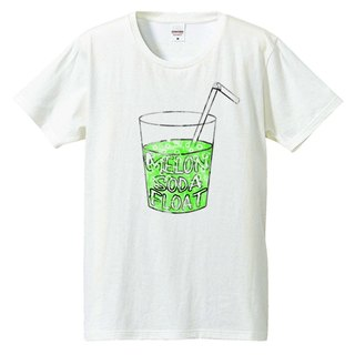 [T-shirt] melon soda float