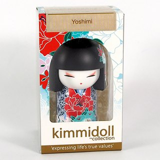 Key ring - Yoshimi polite [Kimmidoll and blessing doll key ring]