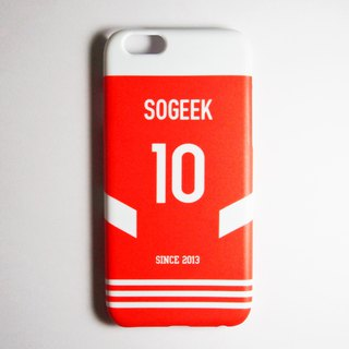 SO GEEK phone shell design brand THE JERSEY GEEK jersey back number customized models 071