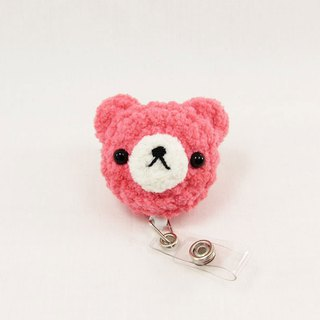 Strawberry Bear - Bear - Ticket Clip - Easy You Card