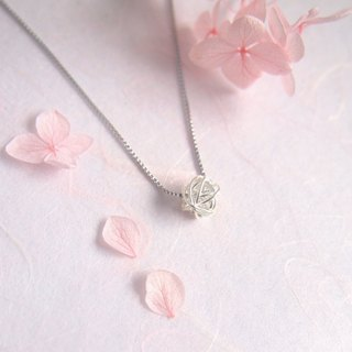 缱绻 | sterling silver necklace