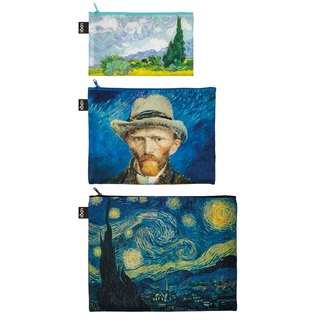 LOQI three into the group storage bag / Van Gogh ZPMUVG