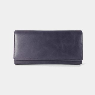 Influxx Aubrey Envelope Leather Wallet – Purple Amethyst