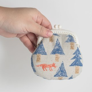 Fairy Tales in the Forest #Blue/Small Gold/Coin Purse