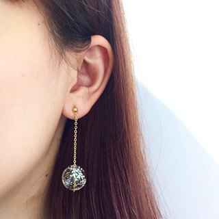 NONNA earrings - Hand-paint bubble earrings