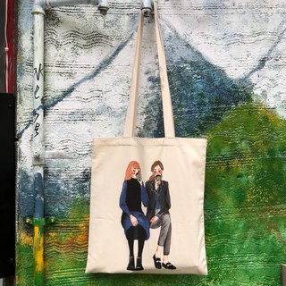 Coffee good friend canvas bag