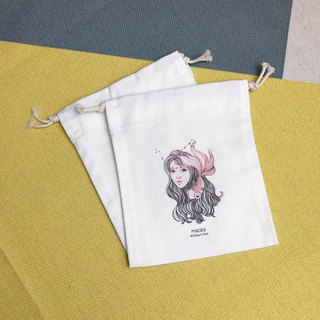 Drawstring Pisces Storage/Gift/Place/Constellation