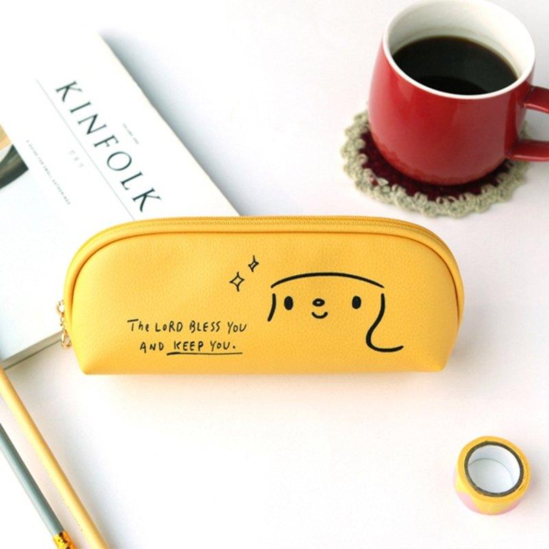 哈囉 珍妮  story鉛筆盒 03.香蕉黃
