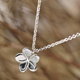 Flower Series/925 Sterling Silver/Necklace/Forget-me-not