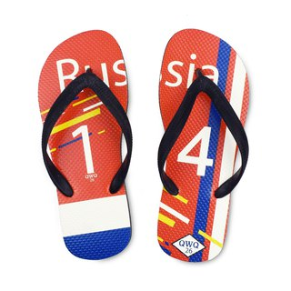 QWQ creative design flip-flops - Russia - men's [limited]
