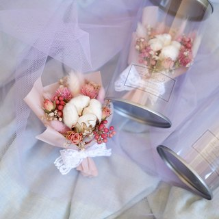 To be continued | Sweet and moving dry flower flower pot wedding small things Valentine's Day graduation bouquet