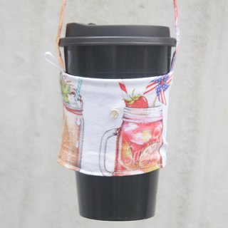 Summer sweet juice, eco-bag, cup set, design, custom-made, your own English tag