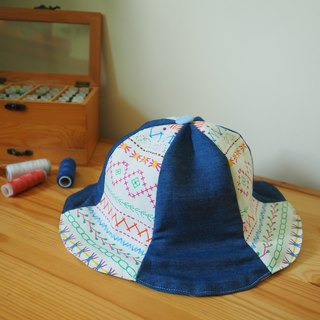 Handmade double face Hat