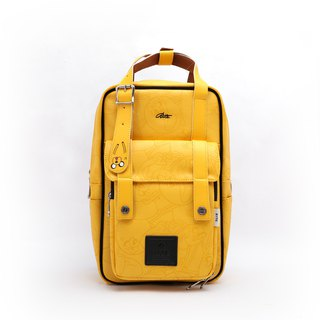 RITE X Adventure Treasure [Twin Series] Advanced Edition - Roaming Backpack - Leather Yellow (中)