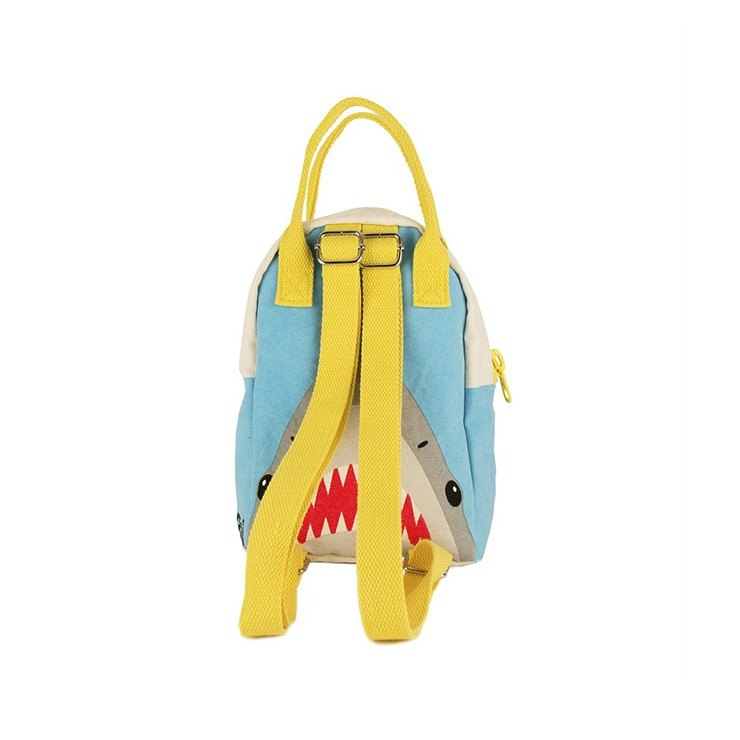 Canadian Fluf Organic Cotton [Handbag]--Great White Shark