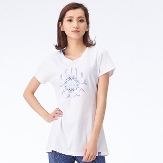[MACACA] Japanese style cool bamboo stick love T - BST2323 white