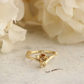 Branches and flower ring