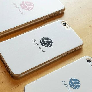 Play one! Volleyball Mobile Shell