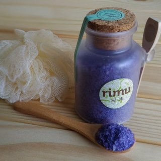 Natural bathing sea salt [soothing lavender]