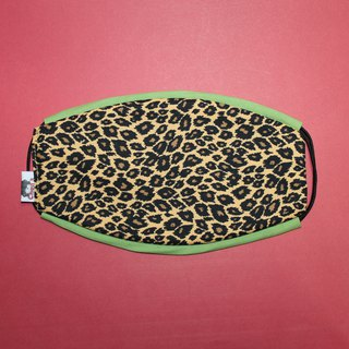Leopard mask handmade limited edition masks comfort / breathable / washable