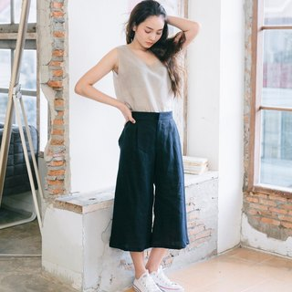 Culotte pants - Midnight Blue