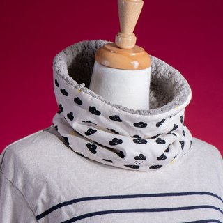 [小小云朵]Neck circumference#Neck warm cover#Wool#寒流#可爱#Christmas exchange gift