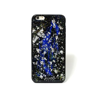 Stardust Series ll magic dust X Lansing silver retro style hand-painted oil ll Phone Case