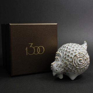 Handmade Chinese Zodiac Porcelain sculpture- Rooster