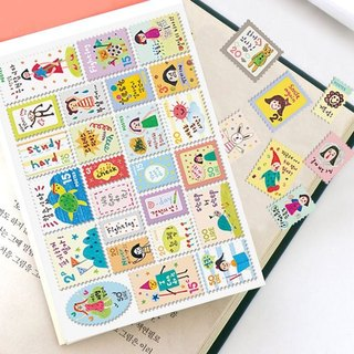 7321 stamp sticker set V4-EJ B02, 7321-04665