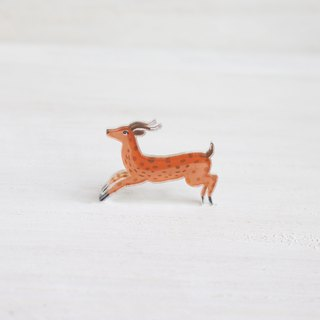 Deer small badge / pin I Forest Daily