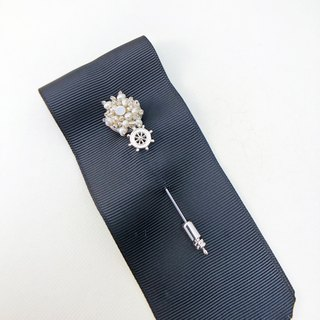 Elegant Pearl Brooch 【Wedding Accessory】 【Japanese Style Brooch】【Christmas gift】