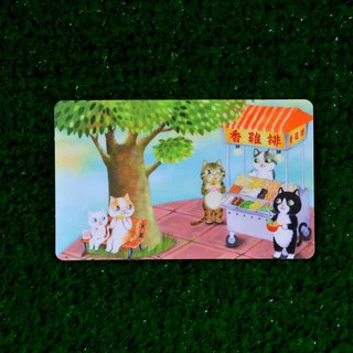 Three pussy shop ~ Hong chicken arrangement card stickers