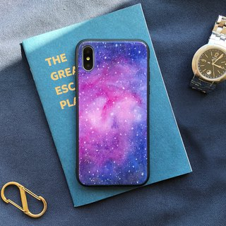 Rose Nebula - Mirror Glass Drop Mobile Shell iphone oppo