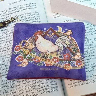 <Animals in the Secret Land> Rooster coin purse (big size)