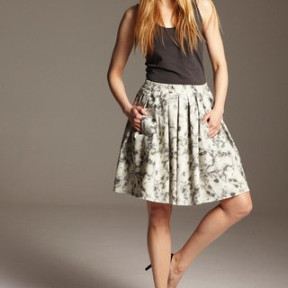 Marble Bobble Skirt