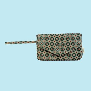 Smart Phone Purse / Old Ceramic Tile No.2 / Garden Topiary