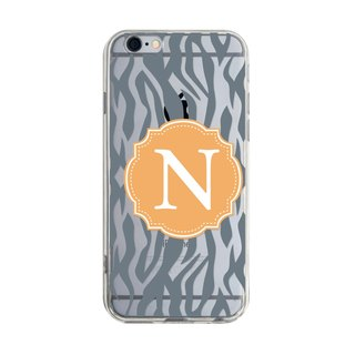 Letter N - iPhone X 8 7 6s Plus 5s Samsung S7 S8 S9 Phone Case
