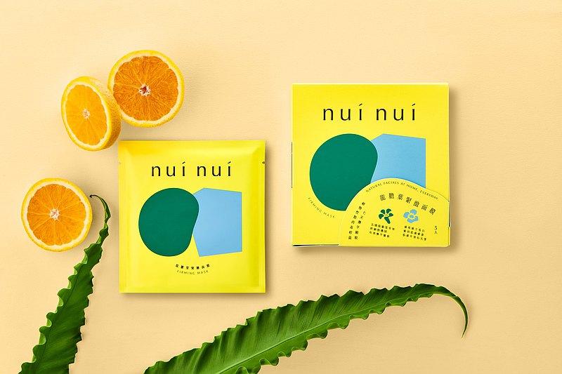 還顏團購組(nui nui龍膽葉緊緻面膜 6入組)