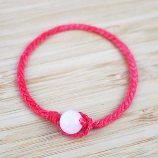 [Hand jade] Silk wax line braided bracelet