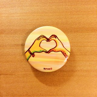 Darwa - LOVE Gestures - Badges