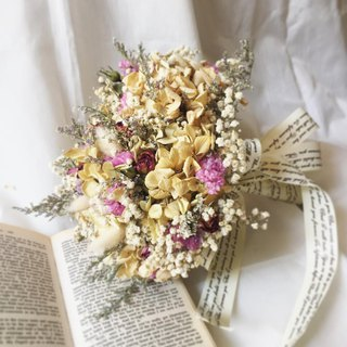 Spot // Natural Garden // Vintage Country Style Dry Bouquet/ Dried Flower Bouquet/ Valentine's Bouquet Bridal Bouquet Wedding Dress Photograph Decoration