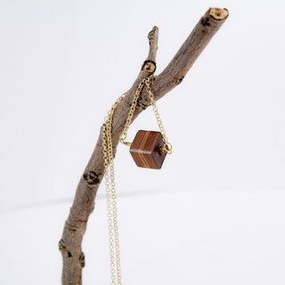 """It's Leather"" handmade leather necklace"