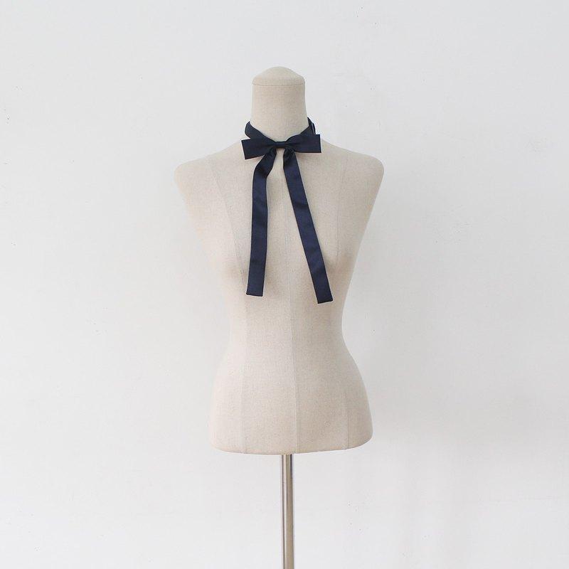 海軍藍絲帶領帶,女海軍領帶,婚禮,絲帶領帶,海軍,緊身